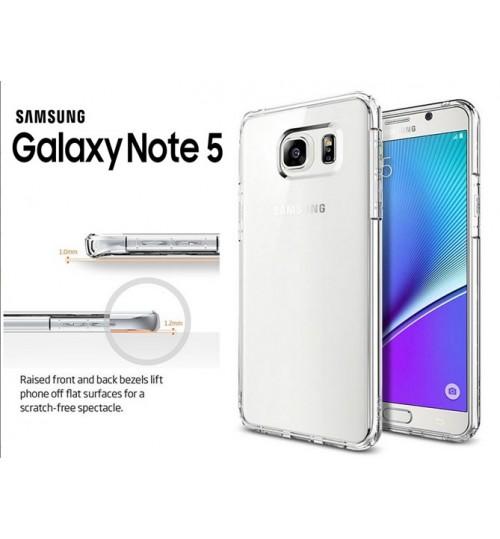 Galaxy Note 5 case clear Soft gel Ultra Thin+Pen