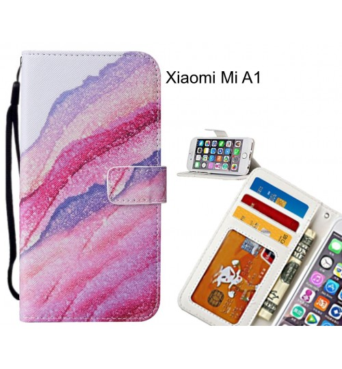 Xiaomi Mi A1 case leather wallet case printed ID