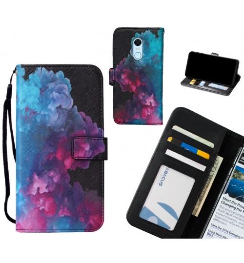 Xiaomi Redmi 5 Plus case leather wallet case printed ID