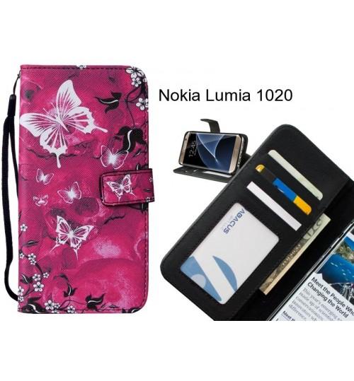 Nokia Lumia 1020 case leather wallet case printed ID