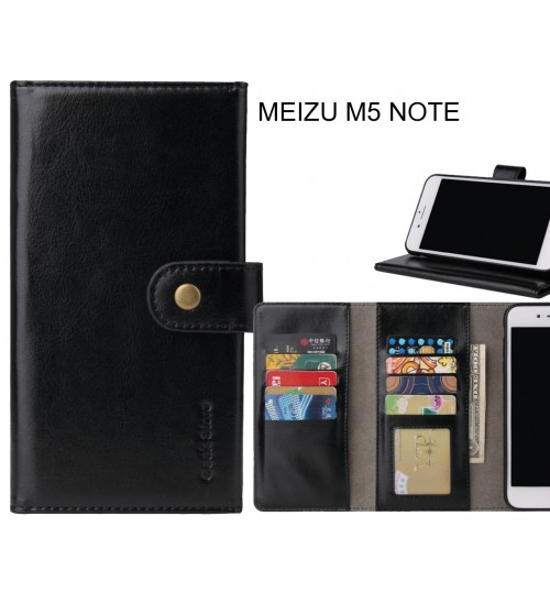 MEIZU M5 NOTE Case 9 card slots wallet leather case folding stand