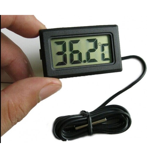Thermometer Mini LCD Digital Temperature Humidity Outdoor Hygrometer