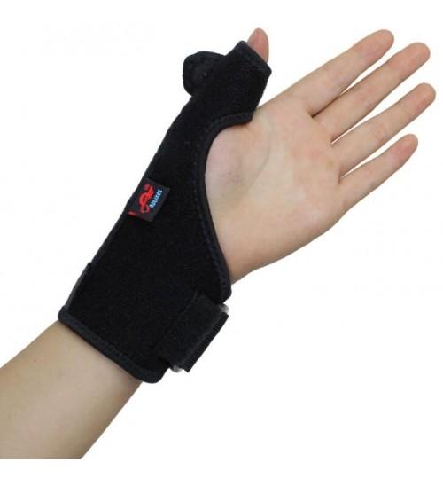 AOLIKES Adjustable Medical Sport Thumb Spica Splint Brace Support LEFT
