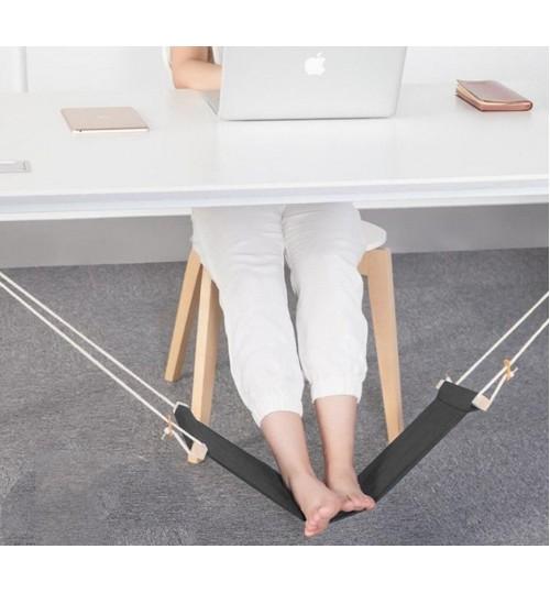 Home Office Under Desk Foot Hammock Rest