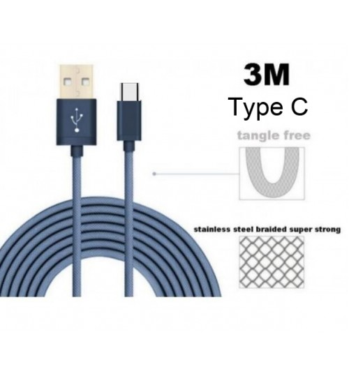 Type C Cable USB C Cable data charging cable 3M