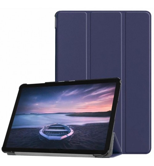 Galaxy Tab A 10.5 Cover Case T590 T595 luxury fine leather smart cover