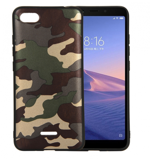 Xiaomi Redmi Note 4X Case Camouflage Soft Gel TPU Case