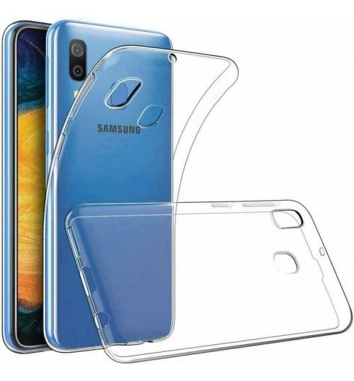 Samsung Galaxy A20 case clear gel Ultra Thin