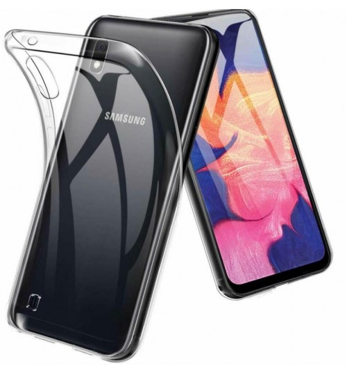 Samsung Galaxy A10 case clear gel Ultra Thin
