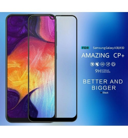 Galaxy A50 Full Screen Tempered Glass Screen Protector Film
