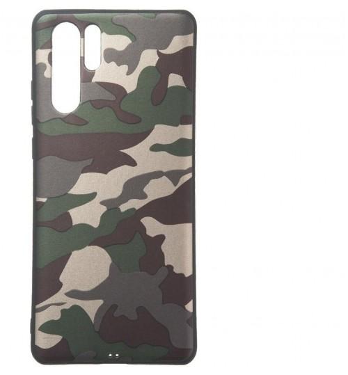 Huawei P30 PRO Case Camouflage Soft Gel TPU Case