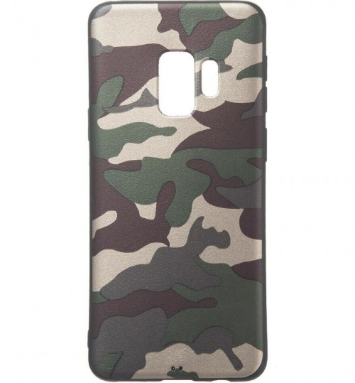 Galaxy J6 Plus Case  Camouflage Soft Gel TPU Case
