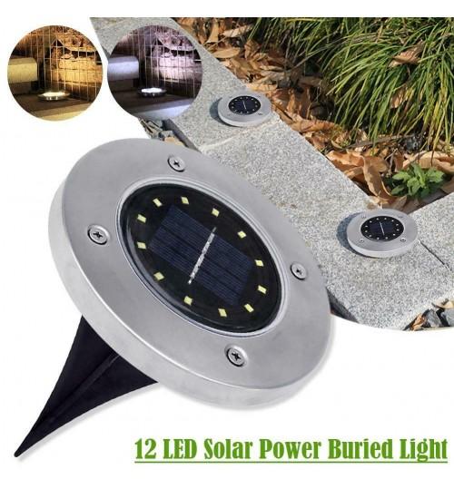 12 LED Buried Solar Power Light