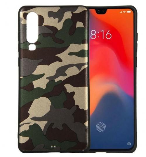Huawei P30 Case Camouflage Soft Gel TPU Case