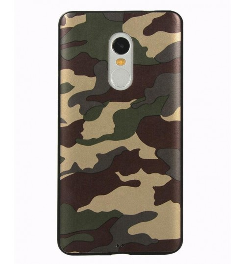 Redmi Note 4 Case Camouflage Soft Gel TPU Case