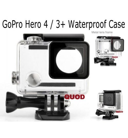 Waterproof Case Housing compatible with Gopro Hero 4 / Hero 3+