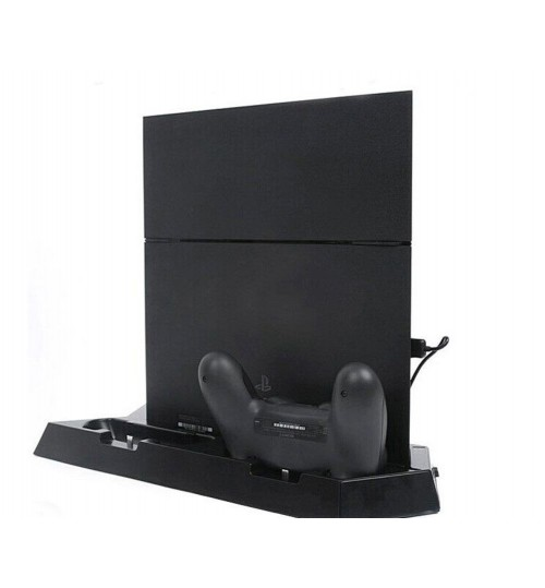 Charging Dock Station with Cooling fans Compatible with PS4