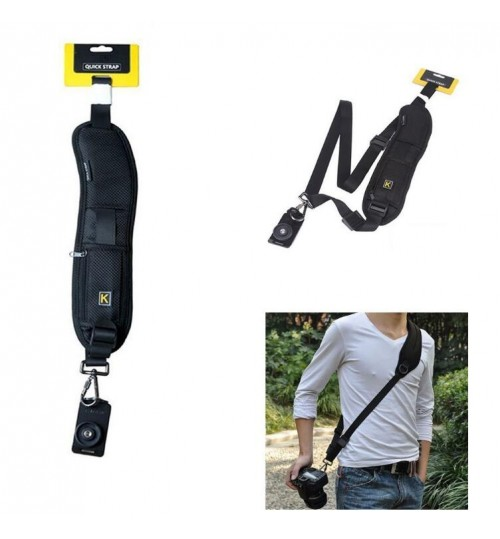 Camera Quick Shoulder Belt Strap