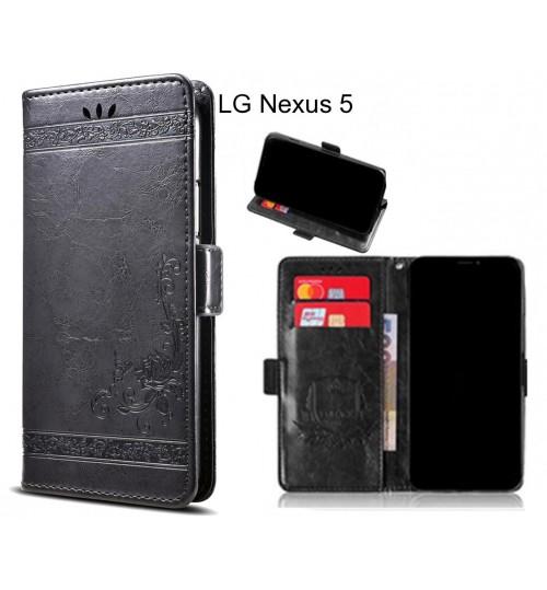 LG Nexus 5 Case retro leather wallet case