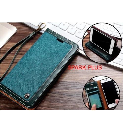 SPARK PLUS Case Wallet Denim Leather Case