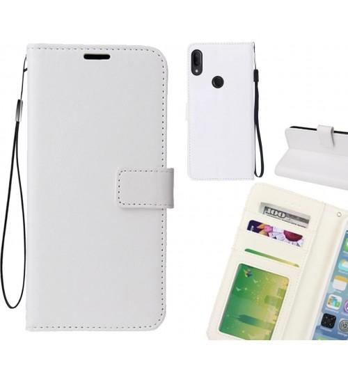 Alcatel 3v case Fine leather wallet case