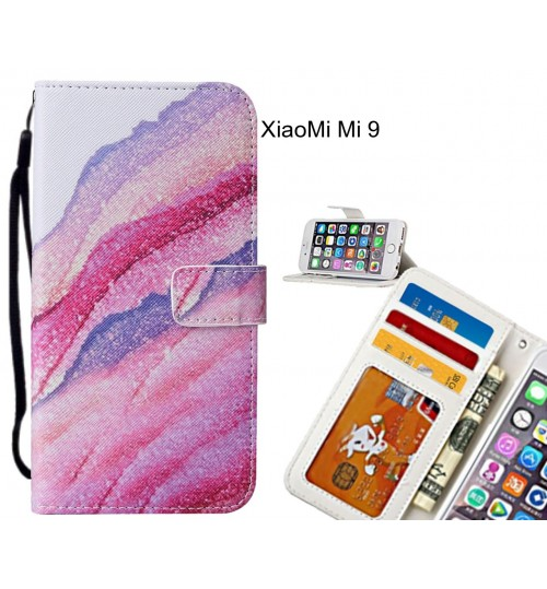 XiaoMi Mi 9 case leather wallet case printed ID