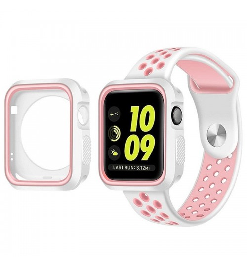 Apple watch iwatch Case Cover gen 38mm Protective Gel Silikon Bumper S3/2/1