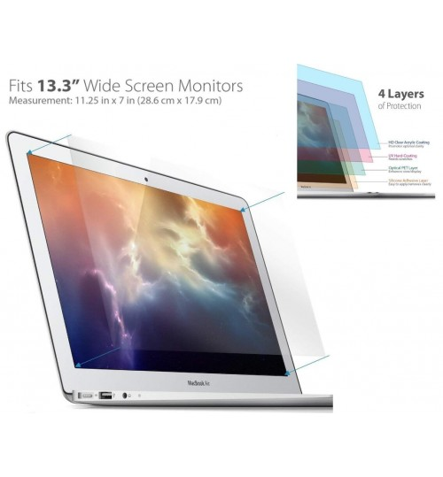 Macbook Air 13 inch ultra clear Screen Protector A1369 & A1466)