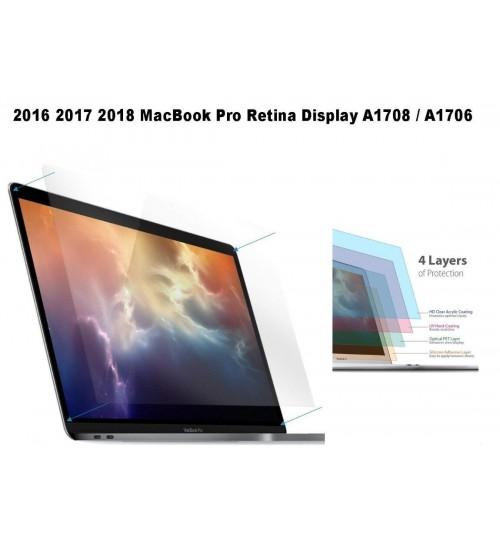MacBook Pro (13-inch, 2016 2017 2018) A1706/A1708 ultra clear screen protector