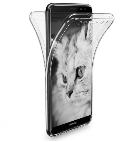 Huawei Nova 2i case 2 piece transparent full body protector case