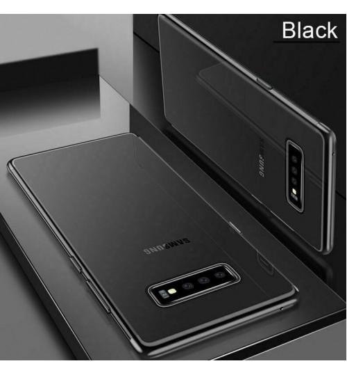 Galaxy S10 case bumper clear gel back cover