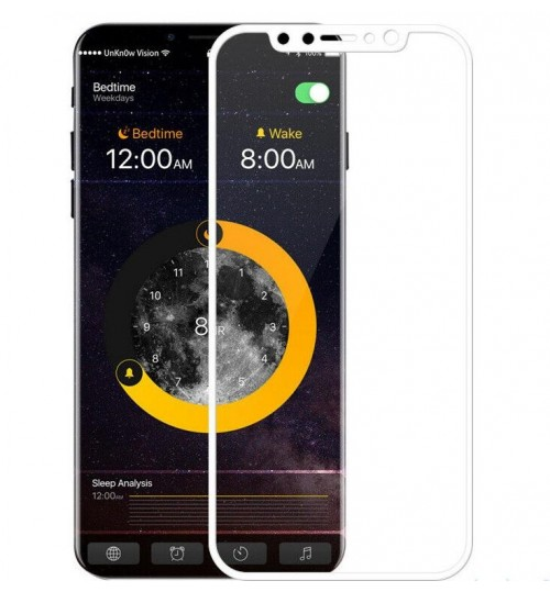 iPhone XS Max  FULL Screen covered Tempered Glass Screen Protector