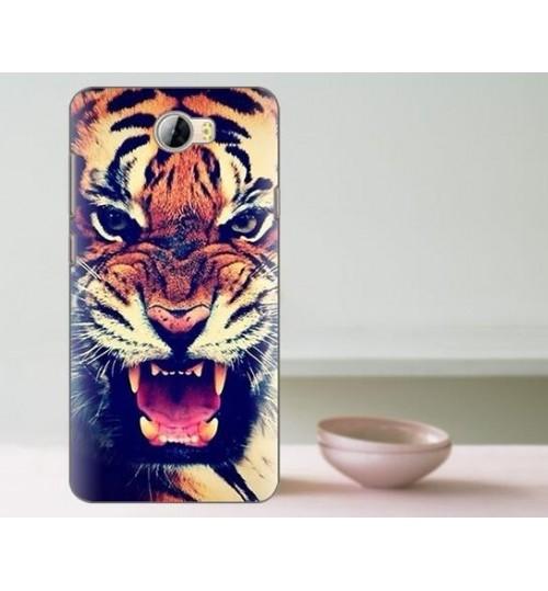 HUAWEI Y5 II /Y6 Elite case Ultra Slim Soft Gel TPU printed case