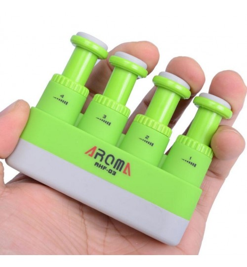 Aroma AHF-03 Guitar Piano Hand Finger Exerciser Medium Tension Training