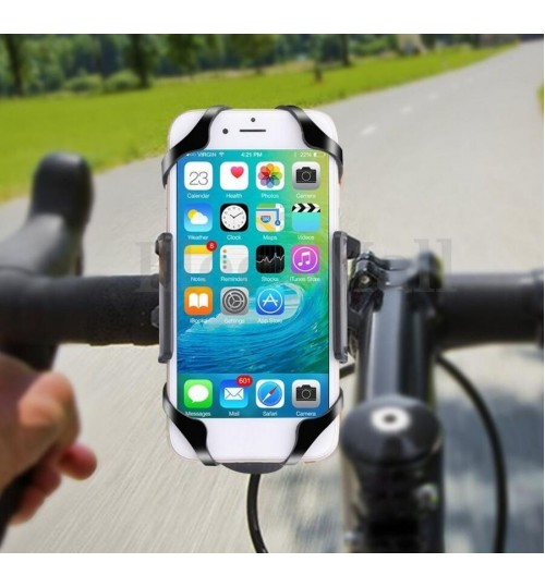 Motorcycle Bicycle MTB Bike Handlebar Mount Holder Universal For Cell Phone