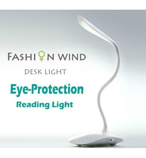 Eye Protection Book Reading Light Touch Sensor Table Lamp with 14 LED