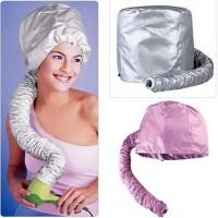 Soft Bonnet Hair-Dryer Attachment