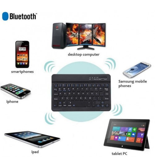 Wireless Bluetooth Ultra Slim Keyboard