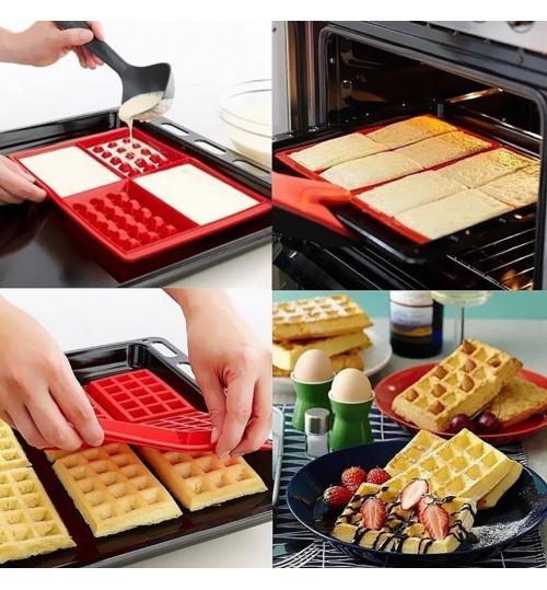 Waffle Shaped Baking Mould