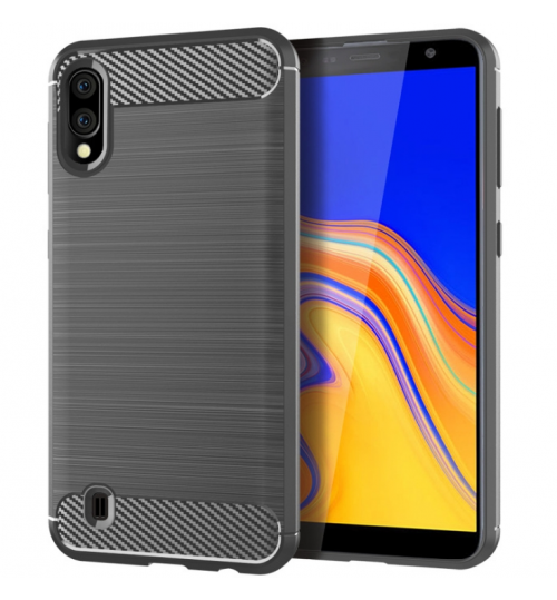 Samsung Galaxy A10 case rugged case with carbon fiber