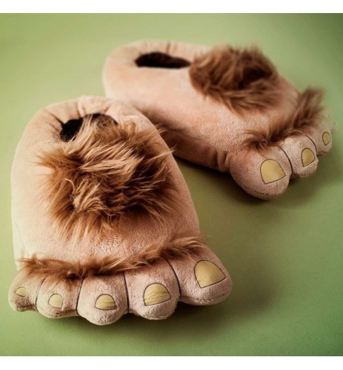 Furry Adventure Slippers