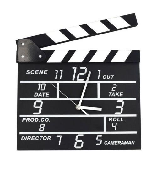 Movie Set Clock
