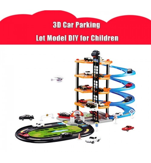 3D Car Parking Lot  -- LARGE