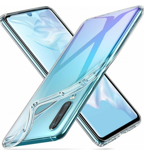 Huawei P30 case clear gel Ultra Thin