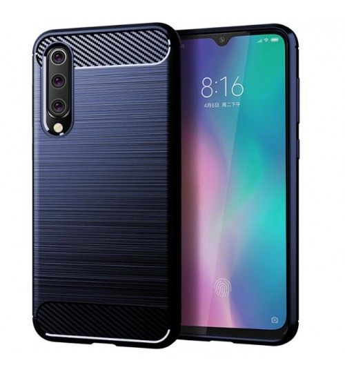 Xiaomi Mi 9 SE case rugged case with carbon fiber