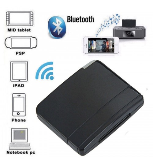Wireless Bluetooth Music Receiver 30-Pin Dock