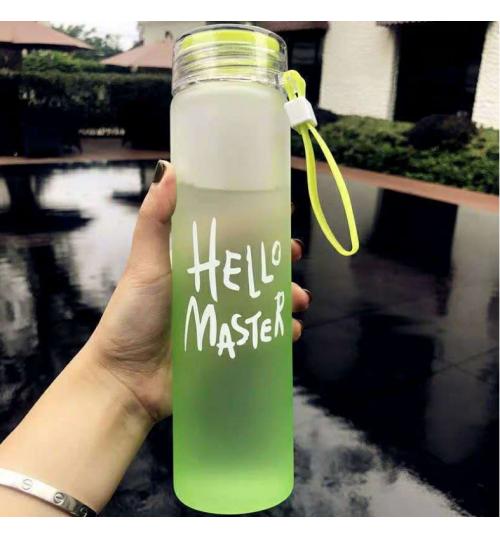 Glass Water Bottle 400 ml