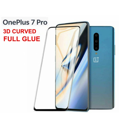 Oneplus 7 Pro Tempered Glass Full Screen Protector 3D