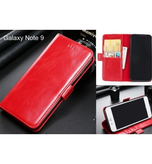 Galaxy Note 9 case executive leather wallet case