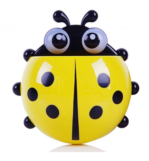 Ladybug Suction Toothbrush Holder